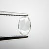 0.36ct Oval Rose Cut Diamond
