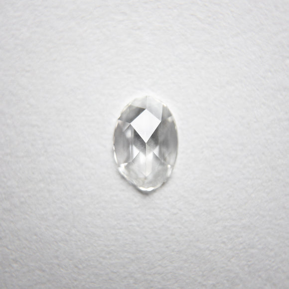 0.27ct Oval Rose Cut Diamond