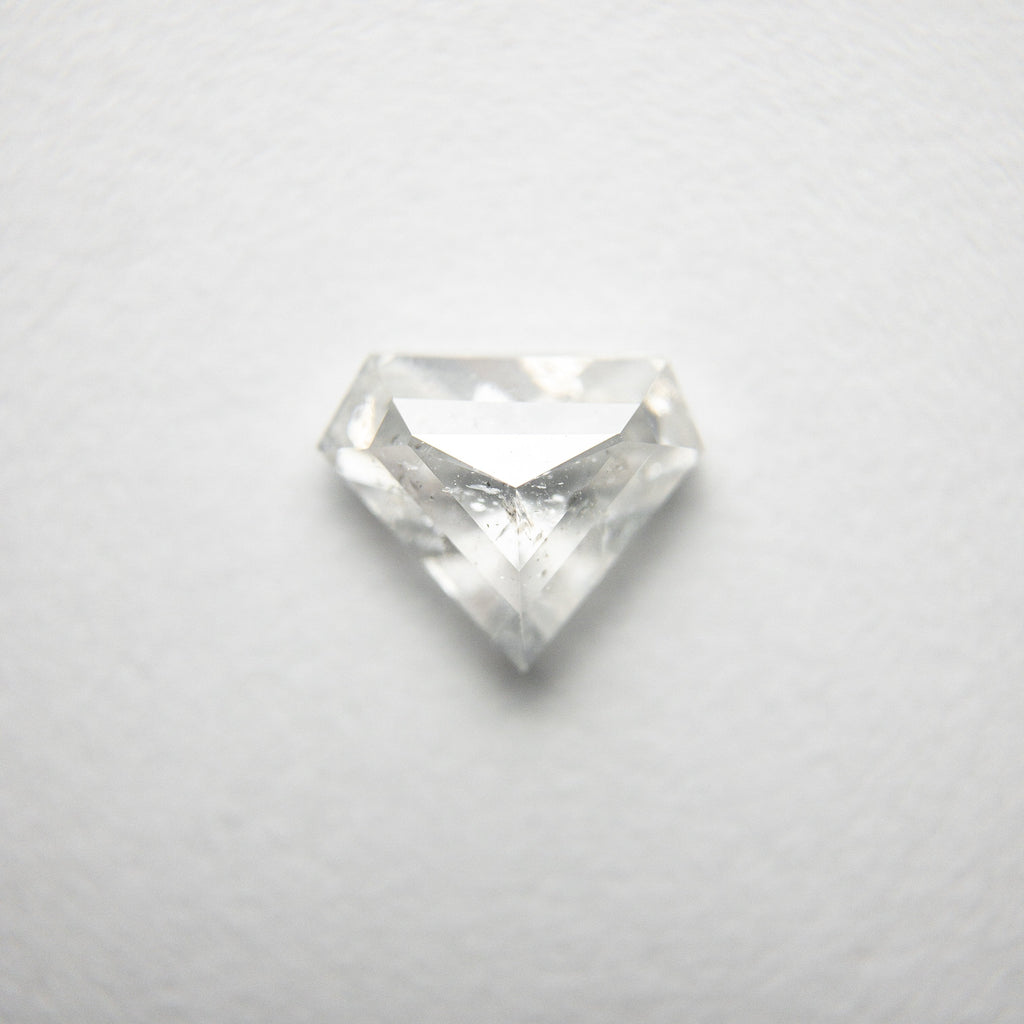 0.86ct 5.93x7.17x2.80mm Shield Rosecut 18318-11