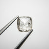 1.04ct Cushion Rose Cut Diamond