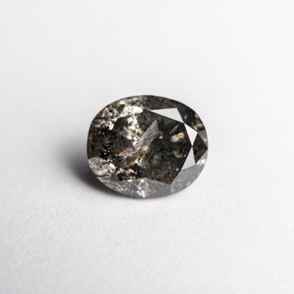 1.63ct 7.82x6.64x4.56mm Oval Brilliant 18453-18
