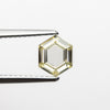 1.04ct Fancy Yellow Hexagon Step Cut Diamond