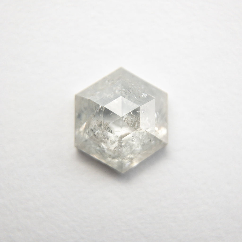 1.19ct Hexagon Rose Cut Diamond