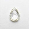 1.00ct Pear Rose Cut Diamond