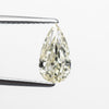 1.62ct Light Yellow Pear Brilliant Cut Diamond