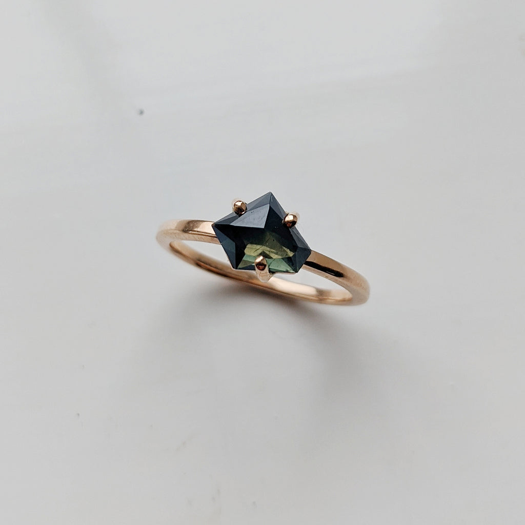 Earthrise Ring Setting