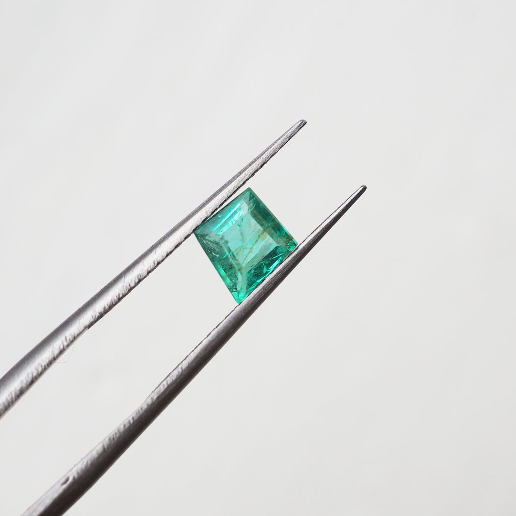 0.62ct Kite Shape Indian Emerald