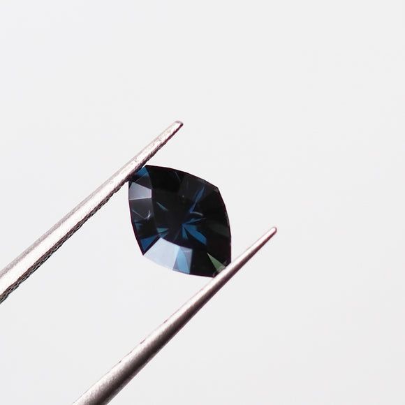 1.11ct Navy Blue Australian Sapphire Elongated Hexagon