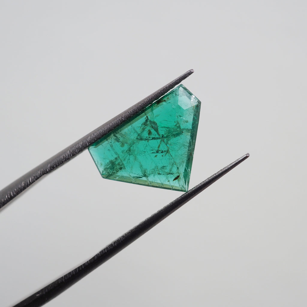 3ct Green Zambia Emerald