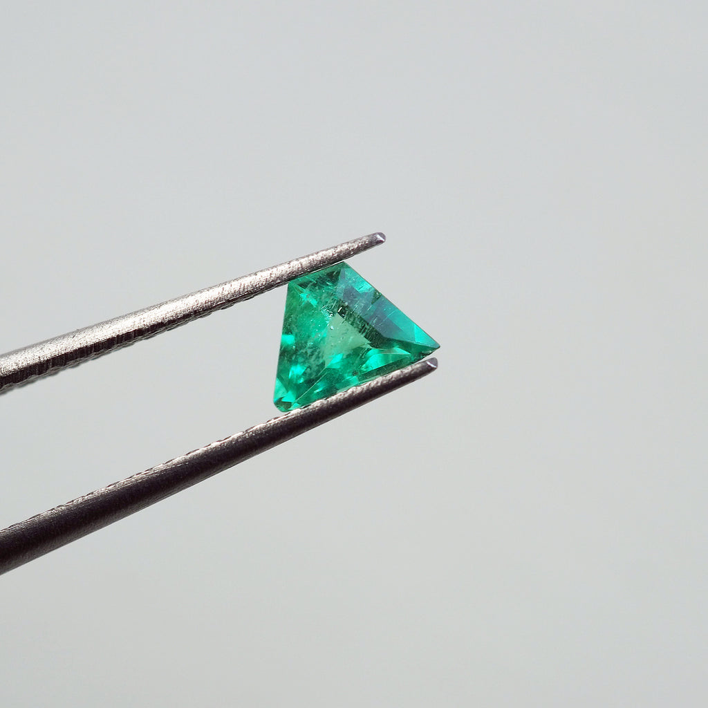 0.30ct Green Colombia Emerald