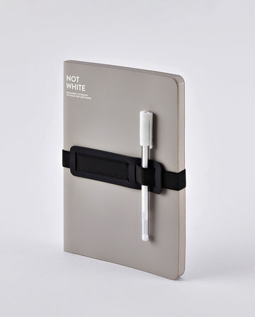 Notebook Not White L Light  - Grey