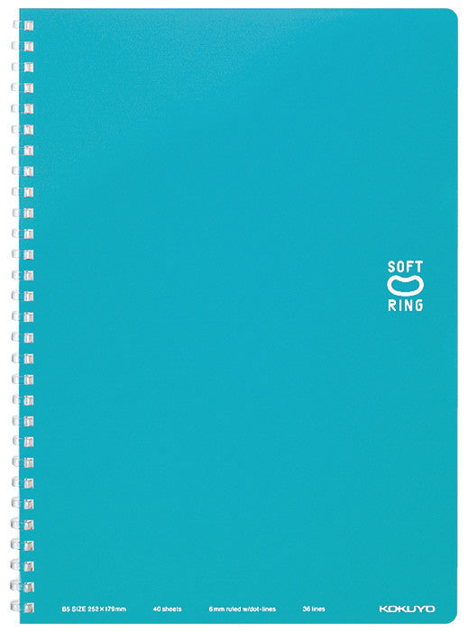 Soft Ring Notebook B5 - 40 Hojas - Blue