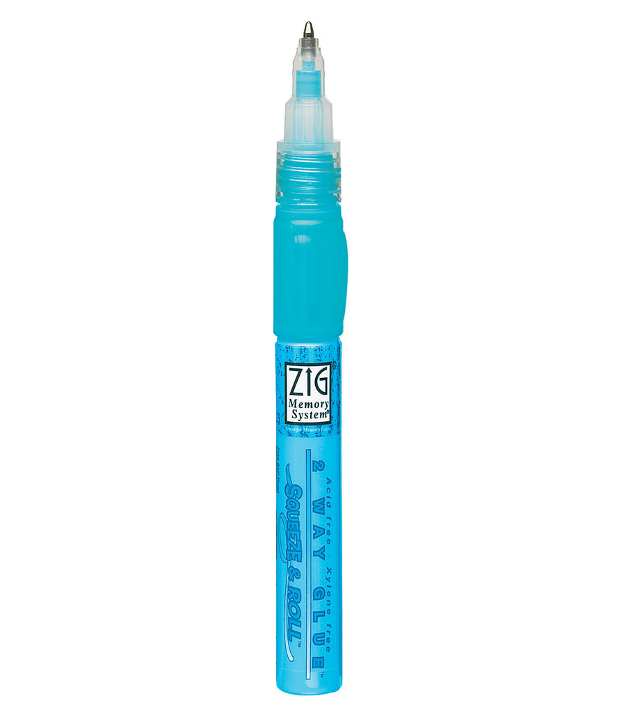 Zig 2 Way Glue - Squeeze and Roll