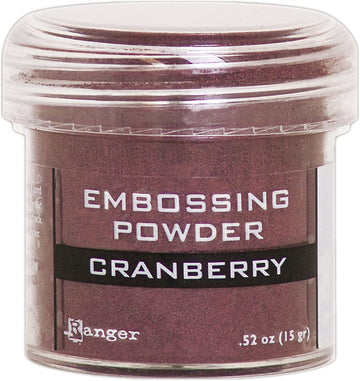 Polvo para Embossing - Cranberry