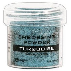 Polvo para Embossing - Turquoise