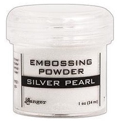Polvo para Embossing - Silver Pearl