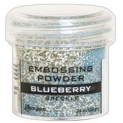Polvo para Embossing - Speckle - Blueberry
