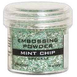 Polvo para Embossing - Speckle - Mint Chip