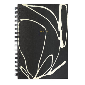 Weekly Jotter Dark Floral