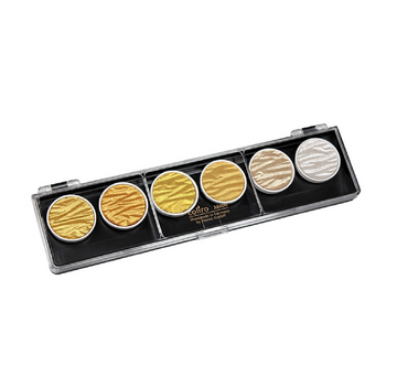 Coliro Set de 6 - Gold & Silver