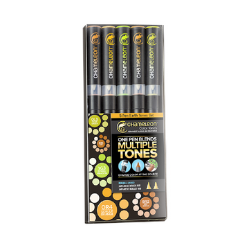 Chameleon Pens - Set de 5 - Earth tones