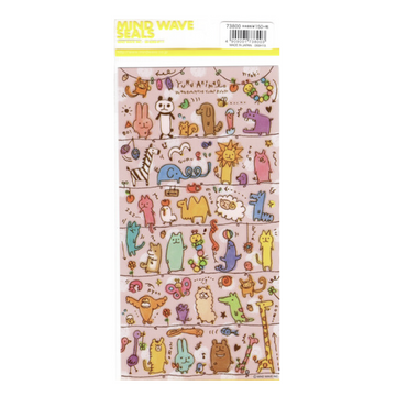 Yuru Stickers - Dibujos de Animales