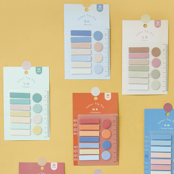 Sticky Tags - Paleta de Colores