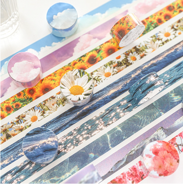 Washi Tapes Naturaleza