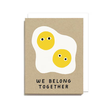 Tarjeta We Belong Together - Eggs