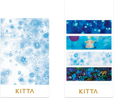 Kitta - Washi Strips - Starry Sky