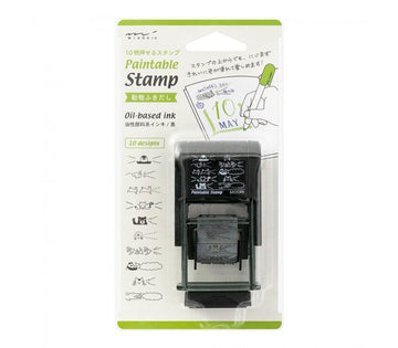 Midori Paintable Stamp - Animals