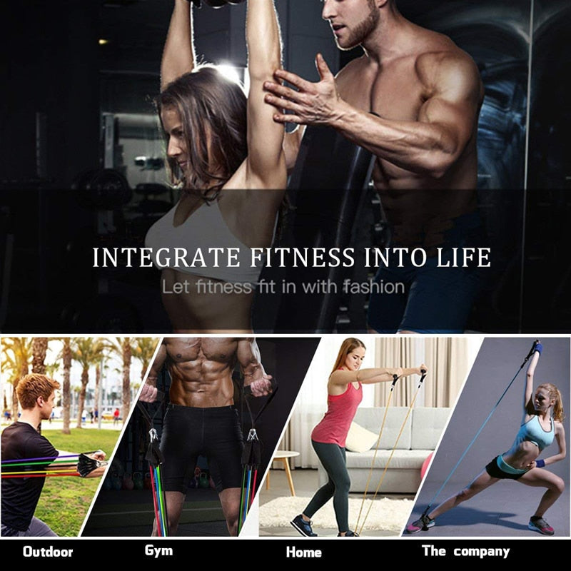 Ultimate All In One Home Resistance Band System