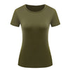 Short Sleeve Women's Summer Casual Basic T-Shirt - SultanBox