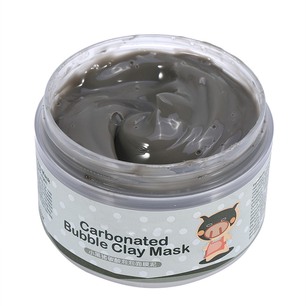 100g Carbonated Bubble Clay Mask Skin Care Deep Cleansing Women Beauty Cosmetic