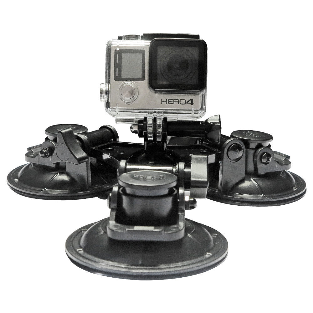 Low Angle Removable Car Suction Cup Mount For GoPro Hero 4 3 5 Session Xiaomi Yi 4K SJ4000 SJ5000 Gopro Session Accessories