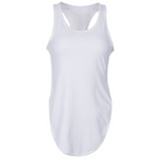 Yoga Camisole Fitness Women's Foreign Trade New Sideways Split Hips Top - SultanBox