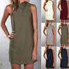 Women Fashion Sexy Slim Summer Beach Sundress - SultanBox