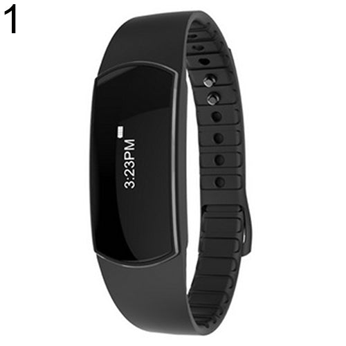Bluetooth 4.0 Sports Wristband Pedometer Tracker Call Reminder Smart Bracelet