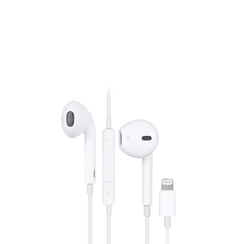 I78X Apple Lightning Headphones EarPods for iPhone X 7 8 Plus with Microphone and Built in Remote