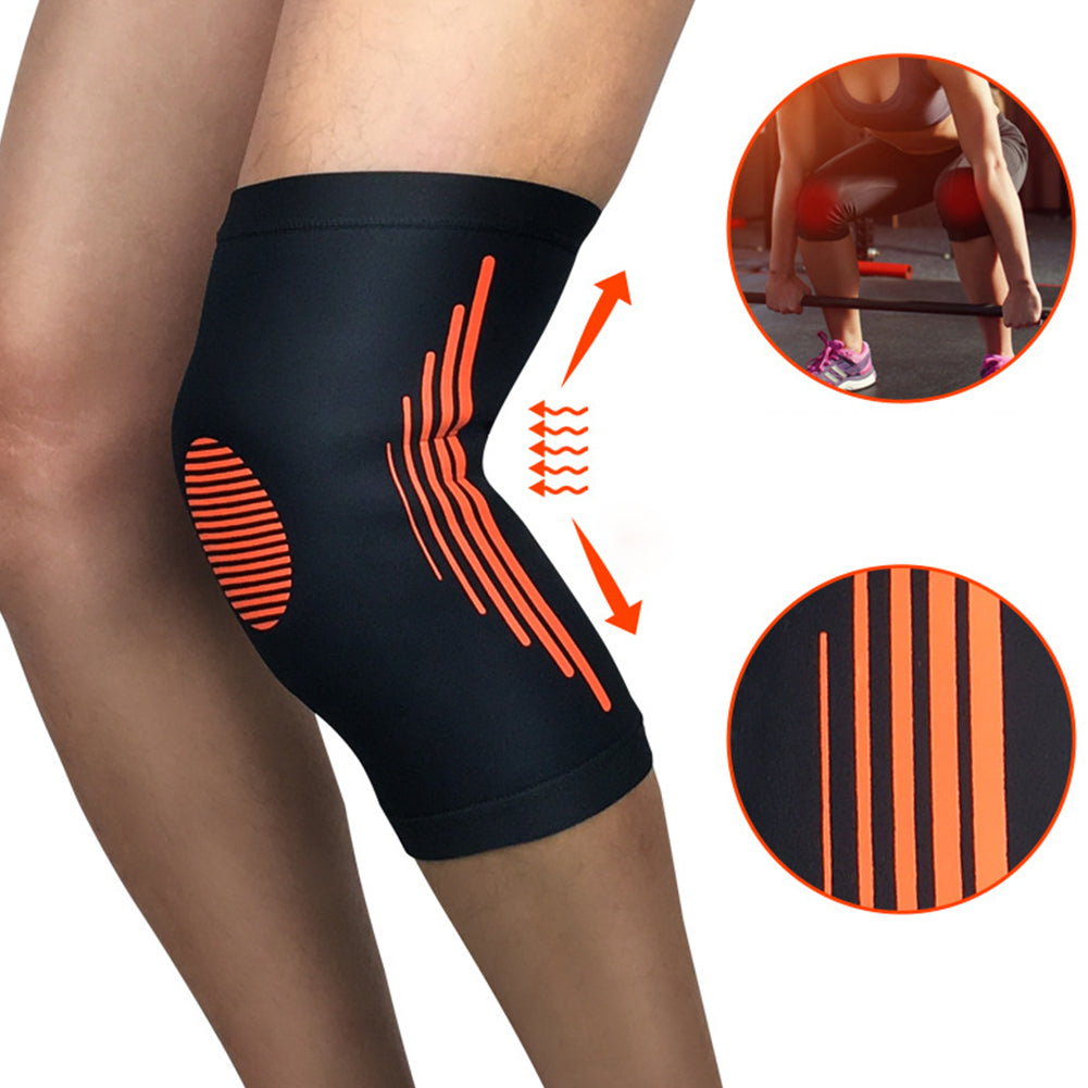 Football Basketball Knee Pad Support Guard Sport Training Safety Elastic Kneepad