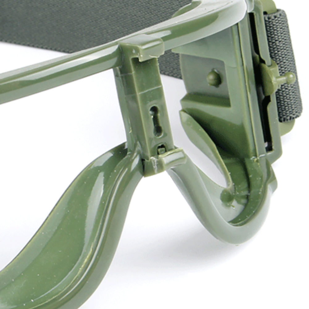 Unisex Motorcycle Protective Goggles Dustproof Outdoor Tactical Military Glasses