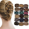 Vintage Beads Elastic Women Hair Styling Double Side Magic Comb Headwear Decor