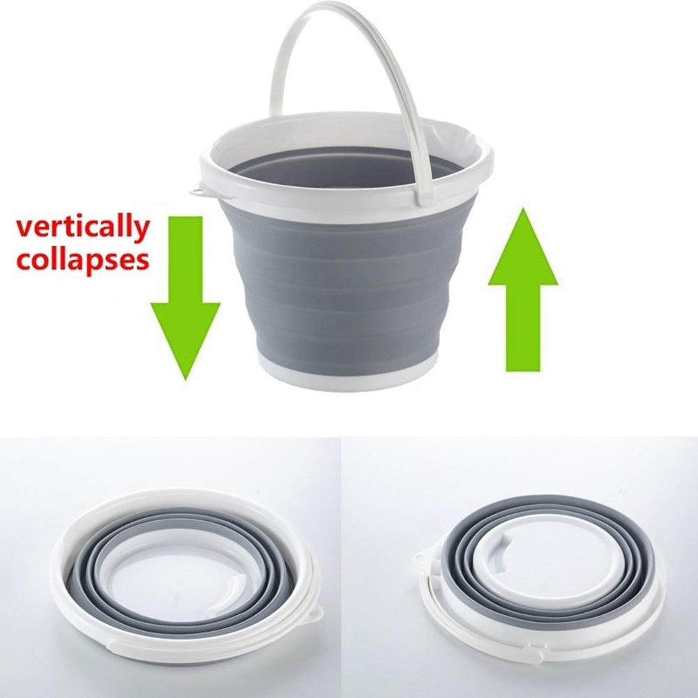 3L/5L/10L Portable Foldable Collapsible Fishing Outdoors Camping Water Bucket