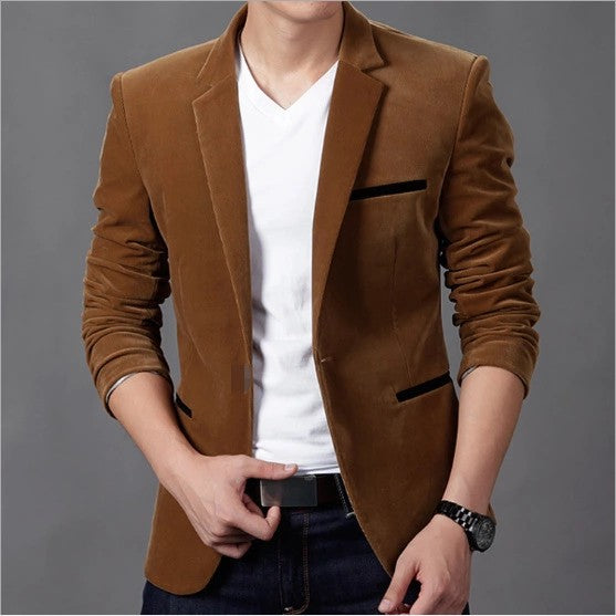 Casual Suit Jacket For Men's Casual Clothes