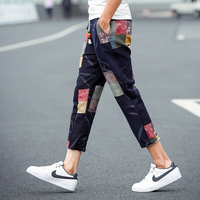 Excellent Printed Men Joggers Trouser