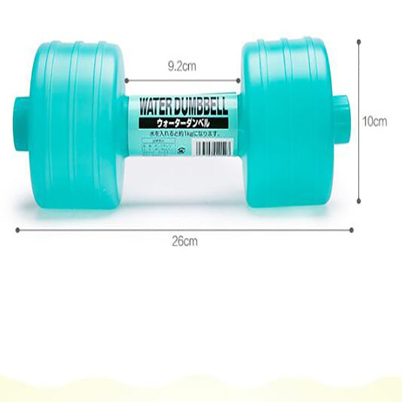 dumbbell plastic kettle water injection sports fitness products