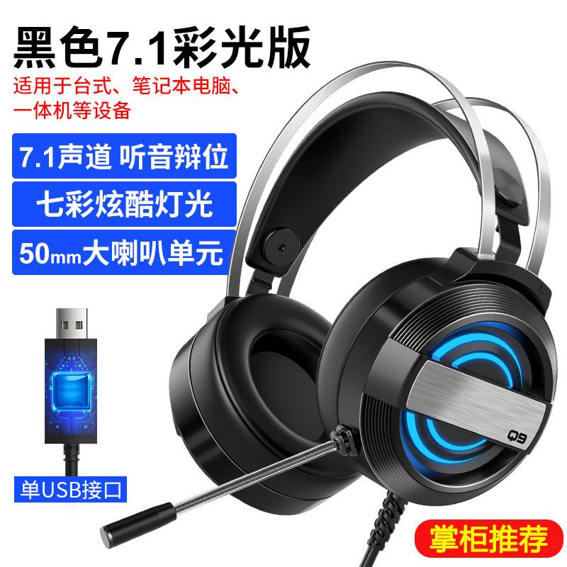 New Head-mounted Computer Wired Headset