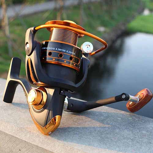 12+1 Ball Bearing Fishing Spinning Reel Saltwater Freshwater Left Right Handed