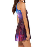 Women's Sexy Lean Colorful Sleeveless Dress - SultanBox