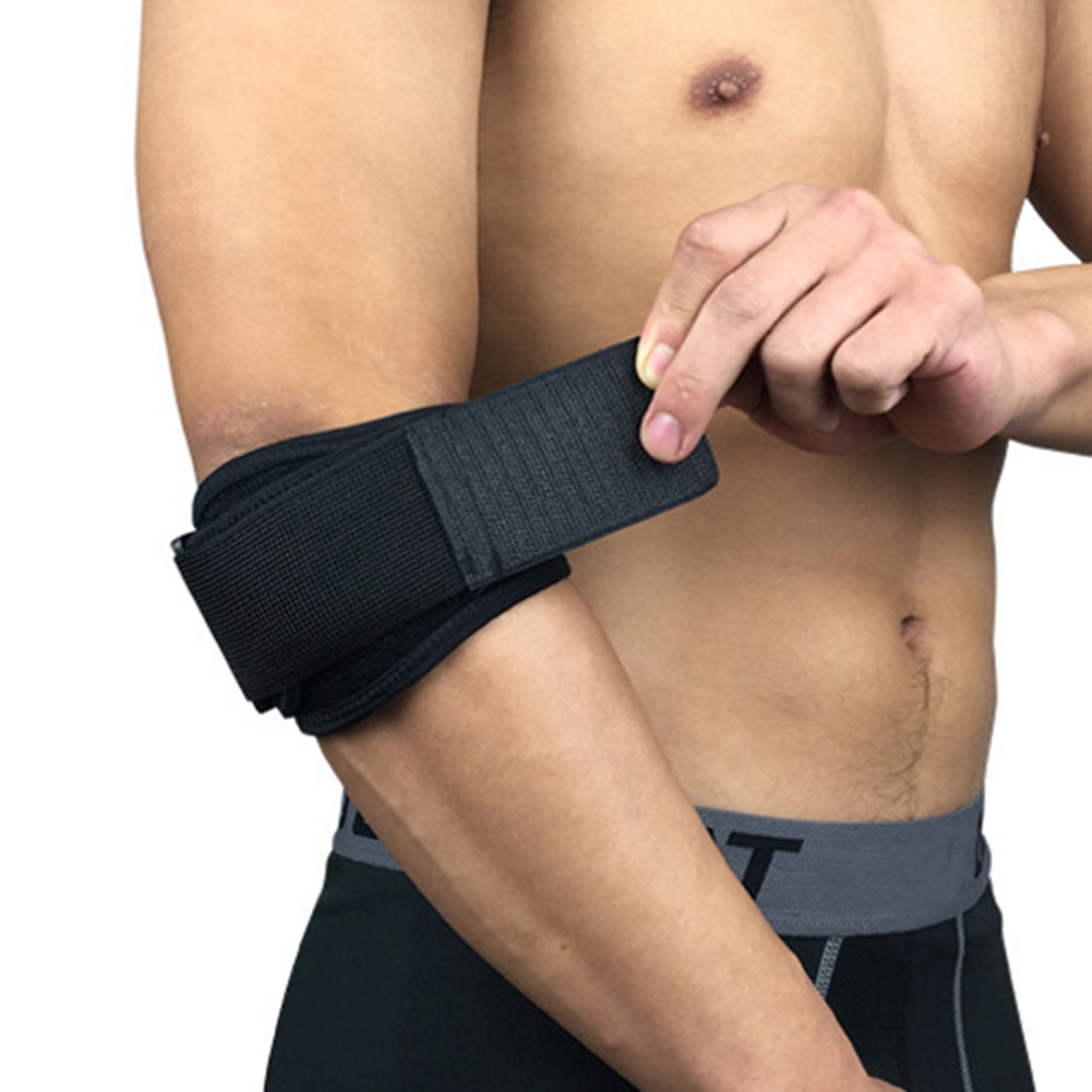 A Piece Adjustable Arm Protection Pads Elbow Brace Wrap Sleeve Guard Safe